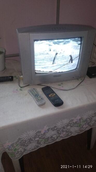 golder телевизор пульт в Кыргызстан: Телевизор диогналь 32 в рабочем состоянии пульт есть