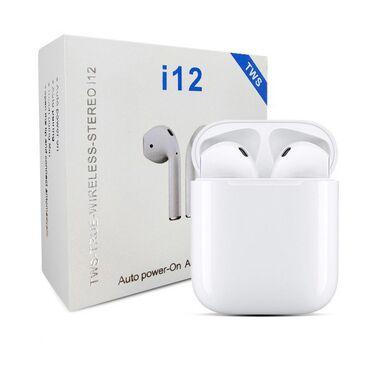 Slusalice I12 TWS BT Odličan kvalitet zvuka kao i trajanje same bateri