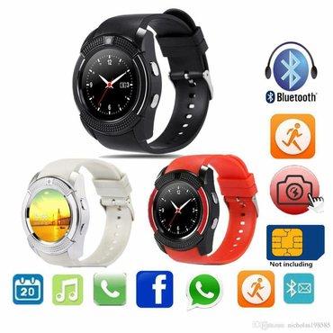 Smart watch v8 veliki izbor boja crna,bela,plava,roze,zelena,zlatna. S - Beograd