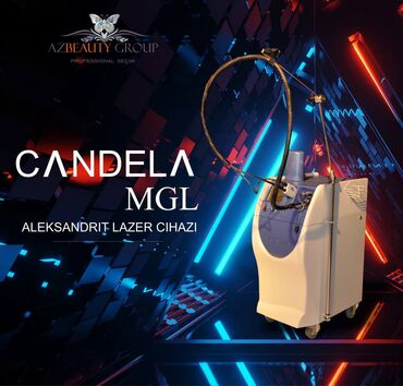candela lazer aparati satilir in Azərbaycan | TIBBI AVADANLIQ: Lazer epilyasiya cihazi⭐⭐⭐Aleksandrit Lazer əsaslı🔸️Candela GentleLASE