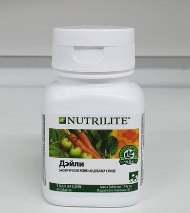 amway nutrilite в Кыргызстан: NUTRILITE™ Дэйли, 30 таб. Amway (Эмвей)NUTRILITE™ Дэйли содержит