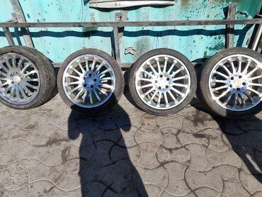диски литые r16 5х 114 3 в Кыргызстан: Диски оригинальные, фирма карлосон . Целые не варинные . R18 5-114