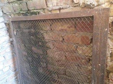 Калитка из сетки рабица, размер 135 см х в Бишкек