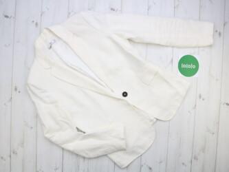 Жіночий лляний піджак Mango, р. М    Довжина: 64 см Рукав: 60 см Плечі