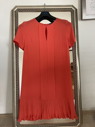 Svaku priliku haljina - Srbija: Haljina,koralno cravene boje za svaku priliku,vel S,viskoza,brend PS