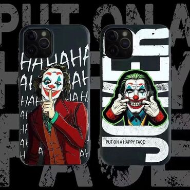 iphone xs naushniki в Кыргызстан: Улыбка Джокера  В наличии на все модели iPhone