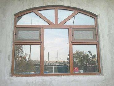 Пластиковые Окна двери витражи  всех сложностей !!! в Кок-Ой