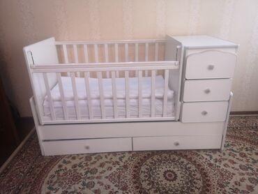 бу детские кроватки в Кыргызстан: Продам детскую кроватку. 6.000 сом