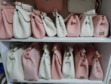 сумка-бу-кожа в Кыргызстан: Сумочки Дольче Габбана, D*G 1 сумка Для стильных мамочек. Можно