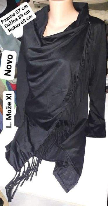 L tunika na - Srbija: Nova tunika sa resama na preklop Vel. L može Xl ima elastinDimenzije