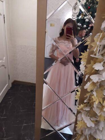 нарядное платье в пол в Кыргызстан: Продаю вечернее,нарядное платье.Очень красивое,нежное платье.Одевала