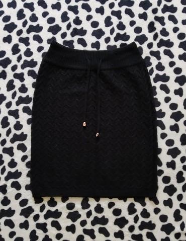 Трикотажная юбка, 42-44-46 размерам подойдёт, надето 1 раз, состояние