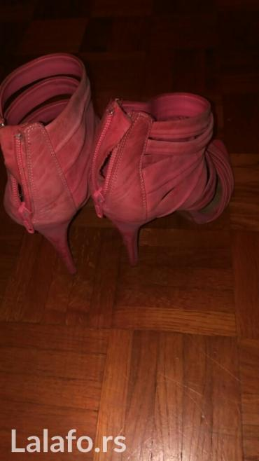 Zara roze sandale velur slike sve govore cena 800,00 - Belgrade