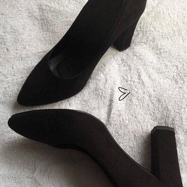 10537 объявлений: Туфли натур. Замша• удобный каблук - 10 см размер : 37 может