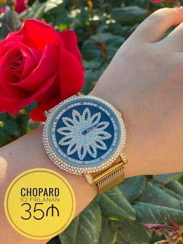 chopard saat - Azərbaycan: CHOPARD Qadin Qol Saati Ici Firlanan - 35 ₼ . #baku #azerbaijan
