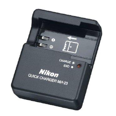 Şarj cihazı (Nikon MH-23)Nikon D40, D40x, D60, D3000, D5000 üçün