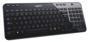 Bakı şəhərində logitech k360 wireless keyboard & m185 wireless mouse combo +