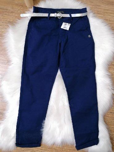 Pantalone c teget poslovne - Srbija: Teget pantalone (Reserved) vel. 146, nove