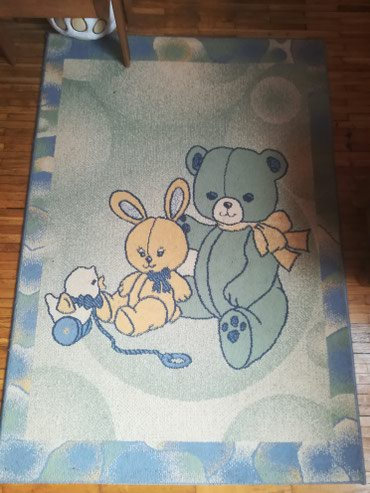 Deciji tepih, kao nov, nema fleka na njemu, nigde nije ostecen, dobar - Subotica