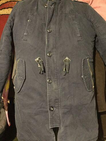 Куртка джинсовой зимний