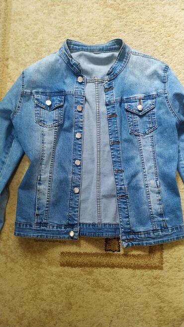 Джинсовая рубашка, новая Размер 46, стильного и модного цвета