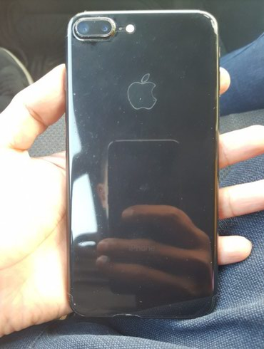 IPhone 7 plus 128 gb Jet Black состояние отличное в Бишкек