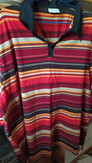 женское платье без рукавов в Кыргызстан: Женские вещи б/у: футболки кофты с длинными рукавами 200 сом