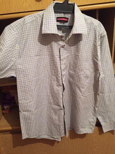 Мужская одежда - Кара-Балта: Рубашка на мужчину новая размер 50-52 примерно