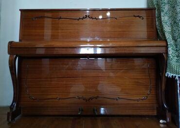 Пианино, фортепиано - Кыргызстан: Клавиши целые, состояние хорошее, практически не играли на нём