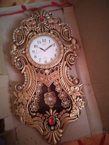 Антикварные часы - Азербайджан: Saat tezedi iwlenmeyib boyuk olculudu cox baha qiymete alinib unvan