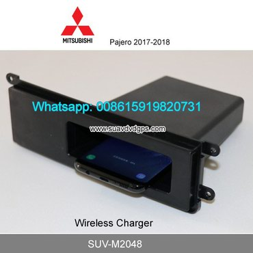 Mitsubishi Pajero car QI wireless charger quick charge fast wireless in Kathmandu