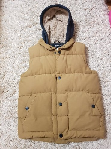 Dečije jakne i kaputi - Vrsac: Next perjani prsluk sa kapuljacom! Perfektan! Vel 10