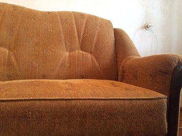 диван раскладн в отл сост»Ас меб»Бишк,р-р 185*125*45 в Бишкек