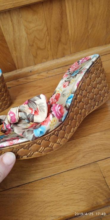 Papuce cvetne ,NOVE . BR 36  SNIZENE SA 1800 din, extra vel 36 cvetne - Pancevo