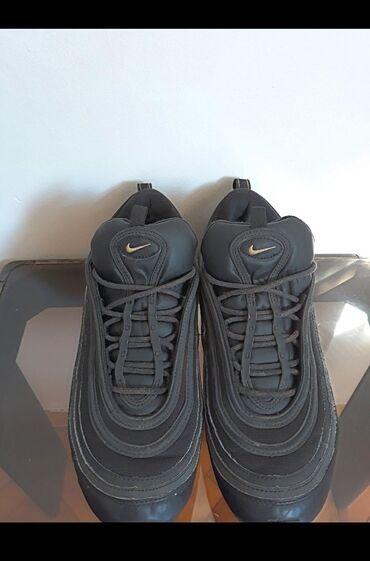 Pre - Srbija: Nike Air Max 97 Leather Black Gold Broj patika: 45=29cm (unutrasnje