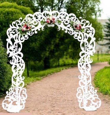 Аренда свадебных арок и ширм для в Бишкек