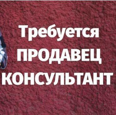 Работа - Бишкек: Продавец-консультант. Без опыта. 6/1