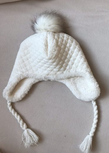 Zimska kapa za devojcice. Velicina 12-18 meseci ili za obim glave do - Crvenka