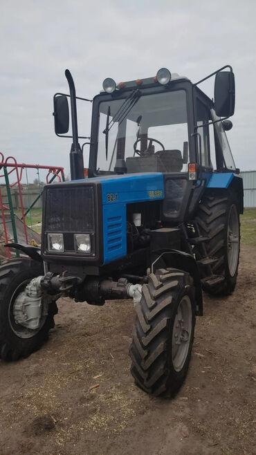 Транспорт - Тюп: Продаю трактор вместе с прессподборщиком, трактор свежий из Беларусии