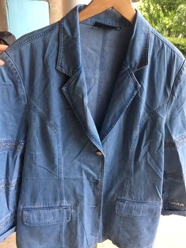 Джинсовая курточка,размер 50-52 сост.отл только нужно