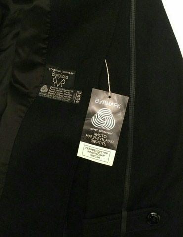 Bakı şəhərində Anqliya istehsali qara rengde yun palto. Tezedir. Razmer 42-44, XL-