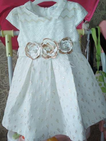 Продаю платье очень красивое для маленьких принцесс на 3 годика в идеа в Токмак