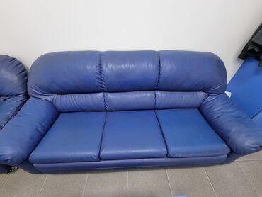 продам кресло кровать in Кыргызстан | ДИВАНЫ: Продаю раскладной офисный диван и кресло