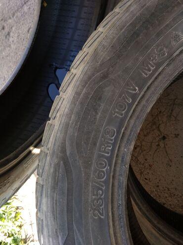 шины б у 13 радиус в Кыргызстан: Шина#шины#235/60/18#запаска#донголок. В хор сост 4 шт