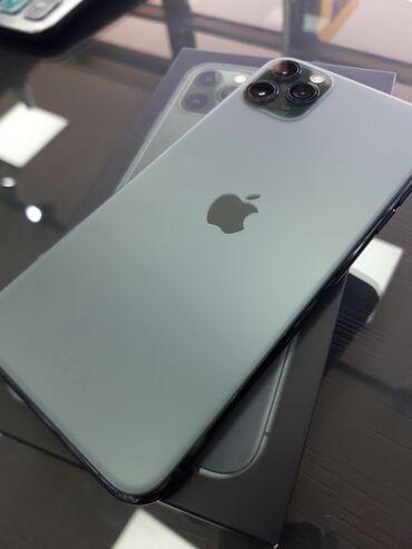 купить iphone бу в рассрочку в Кыргызстан: Б/У IPhone 11 Pro Max Зеленый