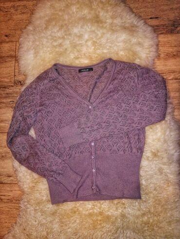Ženska džemperi - Srbija: Čipkasti dzemperić  Dužina 48,5 cm Širina 39, 5 cm Dužina rukava 57,5