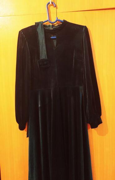 Платья - Цвет: Зеленый - Кок-Ой: Платье Вечернее Adl S