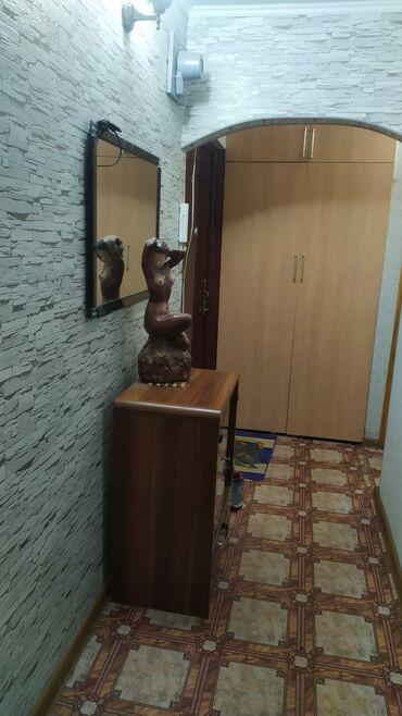 Продажа квартир - 2 комнаты - Бишкек: 104 серия, 2 комнаты, 43 кв. м Кондиционер, Неугловая квартира