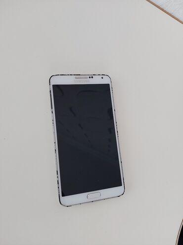 Samsung - Qobu: Təmirə ehtiyacı var Samsung Galaxy Note 3 ağ