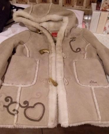 qış üçün uşaq paltoları - Azərbaycan: Usaq ucun palto. 3-4 yash. Cemi bir defe geyilib. Yeni kimidir. Baha